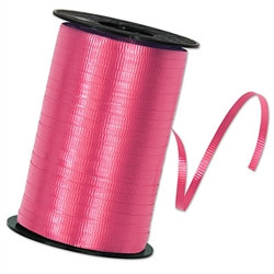 Cerise Curling Ribbon