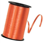 Orange Curling Ribbon