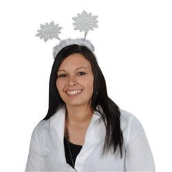 Glittered Snowflake Boppers