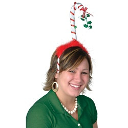 Mistletoe Candy Cane Bopper