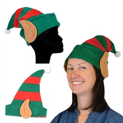 Felt Elf Hat w/Ears