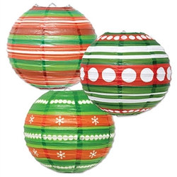 Ornament Paper Lanterns