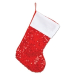 Instead of hanging that old Christmas stocking up near the mantle, give it an upgrade by using our Sequined Christmas Stocking. This sparkly, shiny stocking will provide a fresh new look and puts a unique twist on a Christmas tradition.