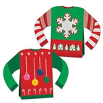 3-D Ugly Sweater Centerpiece