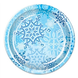 Snowflake Luncheon Plates