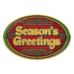 Season's Greeting Sign