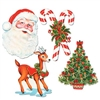 Christmas Cutouts (4/Pkg)
