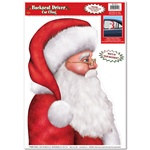Santa Backseat Driver Car Cling (1/sheet)