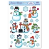 Snowmen and Snowflakes Window Clings