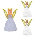 Set a heavenly table with this Vintage Christmas Angel Centerpiece Set.  Sure to become a family heirloom, this wonderful set comes completely assembled and opens full round