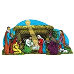 Bring a classic Christmas decoration into your home with this Vintage Nativity Scene 3-D Table Decor.  Re-created from the original circa 1972 artwork, you'll love adding this nostalgic piece yo tour holiday decorations.