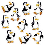 Mini Penguin Cutouts (10 pcs/pkg)