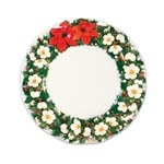 Poinsettia Large Plates (10/pkg)
