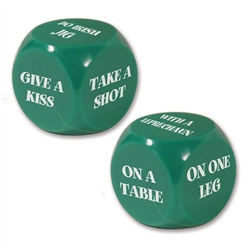 St. Patrick's Decision Dice Game