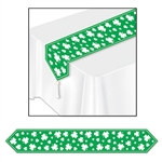 Printed Shamrock Table Runner
