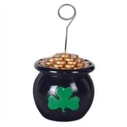Pot-O-Gold Photo/Balloon Holder