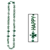 Happy St Patrick's Day Beads-of-Expression (1/pkg)