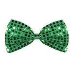 Green Glitz 'N Gleam Bow Tie