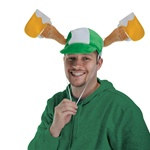 Plush St. Patrick's Day Mugs Cap