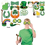 Whether it's St. Patrick's Day or an Irish themed party, these St. Patrick's Day Photo Fun Signs are perfect for the celebration! Pick your favorite fun sign and have someone take your picture. There are 12 props in the package for everyone to use!