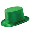 Green Dura-Form Vel-Felt Top Hat