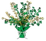 Shamrock and Horseshoe Gleam 'N Burst Centerpiece