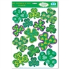 Irish-Mood Shamrock Window Clings
