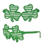 Get ready to party hard on St. Patrick's day with these Shamrock Shutter Glasses. These fun, festive glasses will accent the rest of your St. Patty's outfit and make for a truly unforgettable party. Comes one pair of glasses per package.
