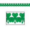 Irish Shamrock Tissue Garland
