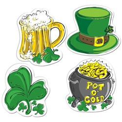 Irish St Patricks Day Cutouts