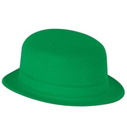 Green Velour Derby