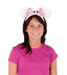 Plush Bunny Ears Headband