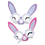 Plush Bunny Glasses (Sold Individually) (Assorted Designs)
