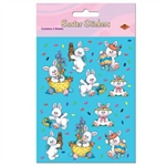 Easter Bunny Stickers (4 sheets/pkg)