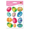 Color Bright Egg Stickers (4 sheets/pkg)