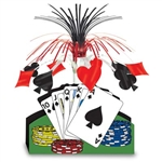 "Don't pass up this great ""deal"" on our  Playing Card Centerpiece, gather your friends for a fun night of cards at a casino party!"