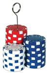 Poker Chips Photo/Balloon Holder