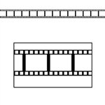 Filmstrip Border Trim (37 feet long)