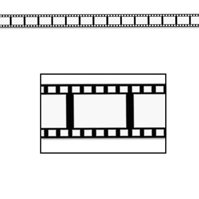 Filmstrip Decorating Material