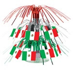 Mini Mexican Flag Cascade Centerpiece