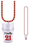 Finally 21 Shot Glass Beads (1/pkg)