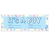 It's A Boy Sign Banner