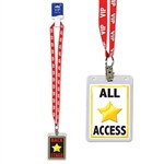 VIP All Access Backstage Party Pass