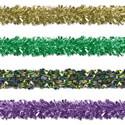 Mardi Gras Gleam N Fest Festooning Garland (Select Color)