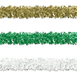 St. Patrick's Day Gleam N Fest Festooning Garland (Select Color)
