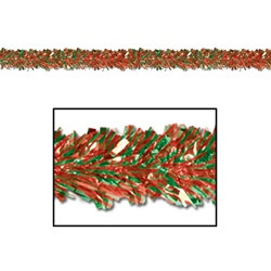 Gleam N Fest Festooning Garland Red and Green