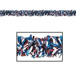 Red, White, and Blue Gleam N Fest Festooning Garland