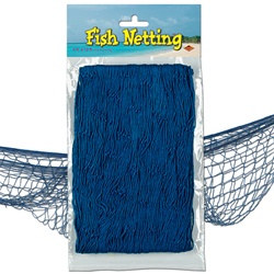 Blue Fish Netting