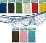 Fish Netting adds a great look to your nautical party. Our fish netting comes in six different colors - just right for any nautical themed party!