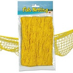 Yellow Fish Netting